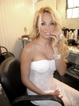10.2009 Pamela Anderson with Silver Lightning Minx photo and manicure by Kimmie Kyees